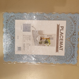 Placemats PVC  HD-collection Licht blauw
