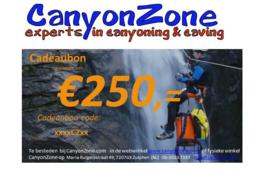 CanyonZone Cadeaubon 250