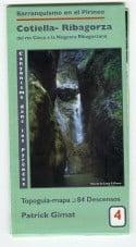 Canyoningkaart Cotiella-Ribagorca