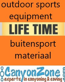 Lifetime Canyoning and Caving Equipment!
