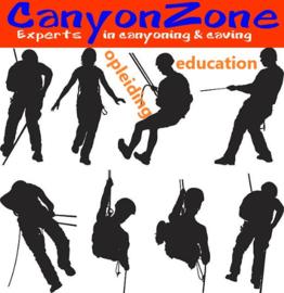 Volg je een opleiding in canyoning of speleologie?