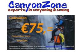 CanyonZone Cadeaubon 75