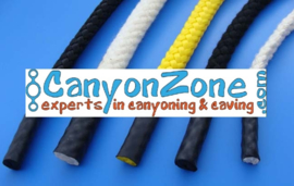 How do I choose the right rope for canyoning or caving?