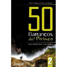 50 Barrancos del Pirineo. 2ª Editie