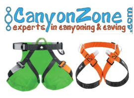 What are suitable belts / harnesses for canyoning and / or caving?