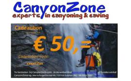 CanyonZone Cadeaubon 50