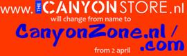 Is CanyonZone gelijk aan canyonstore.nl?