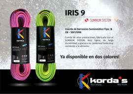 Korda's IRIS 9mm GREEN-YELLOW SUMMUM System