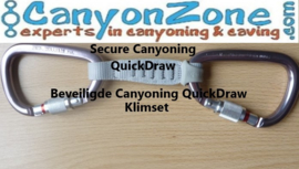 Wat is een canyon quickdraw / canyon klimsetje?