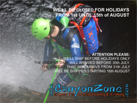 Newsletter number 1 - 2019 from CanyonZone.com