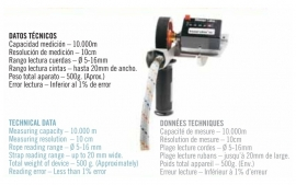 Kordas Cuentrametros  - Professional cord measuring device