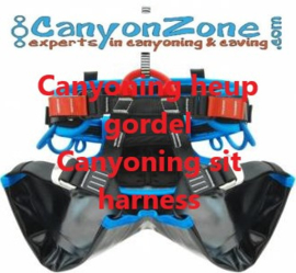 What is the difference between a climbing harness, canyoning harness, caving harness, seat harness, hip harness and integral harness?