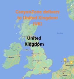 Kan ik als geadresseerde in het  Verenigd Koninkrijk (UK) bestellen bij CanyonZone?