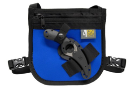 Access Point Rescue Chest Pouch with CRKT Bearclaw knife