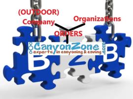 Waar vind ik als (buitensport)bedrijf / organisatie informatie hoe ik kan bestellen?