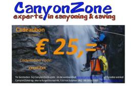 CanyonZone Cadeaubon 25