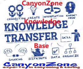 CanyonZone's Kennisbank