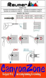 Raumer HANG FIX inox M10AL (Ø10x86mm)