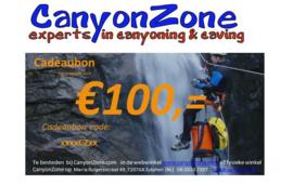 CanyonZone Cadeaubon 100