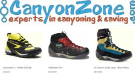 Wat is een goede canyon schoen?