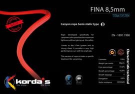 Korda's FINA 8,5mm TITAN System