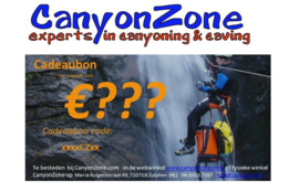 CanyonZone zelf in te vullen bedrag