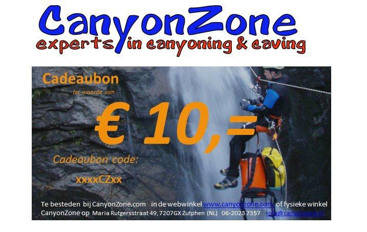 CanyonZone Giftcard 10