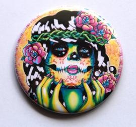 Zakspiegeltje - Sugar Skull Girl