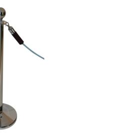 Afzetkoord BasicLine velours zwart 40 mm. - info