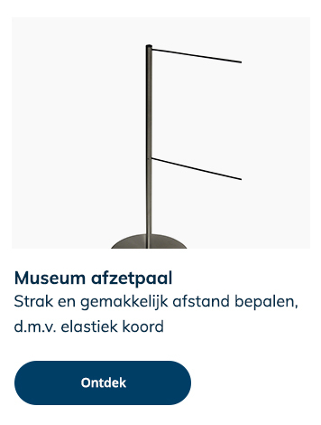 Museum afzetpaal