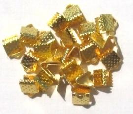 Veter/lintklemmen goudkleurig (1300751)