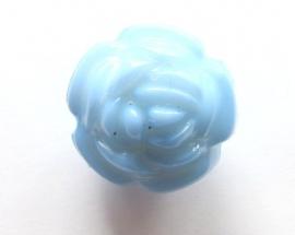 Acryl roos aqua 16 mm (09K000656)