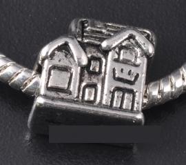 Bedel huisje, tibetaans zilver