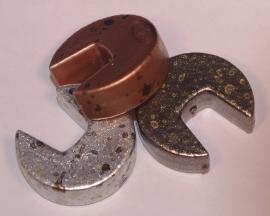 pacman-vorm kraal 23 mm (14K014)