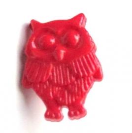 Knoopje uil rood (10X000365)