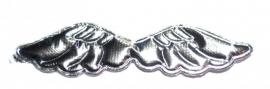 Applicatie vleugels zilver (09AP00105)