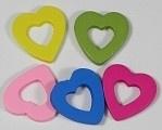 Open harten per 5 stuks 28 mm