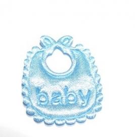 Applicatie babyslabbetje lichtblauw (09AP00071)