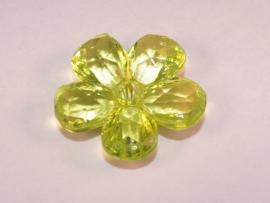 Gele bloemkraal (14K003)