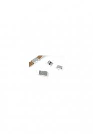 magneetsluiting zilver 20x13 mm