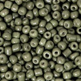 Rocailles khaki groen 3 mm