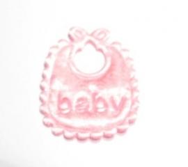 Applicatie babyslabbetje lichtblauw (09AP00072)