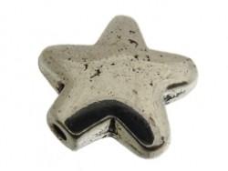 Metalen kraal ster 12 mm (13K000845)