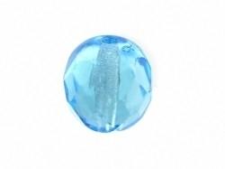 Facet ovaal licht blauw 6mm (05K000036) 10 stuks