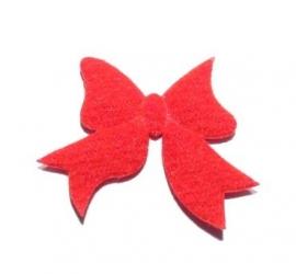 Applicatie vilt strikje rood (10AP00208)