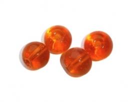 Glaskraal oranje 6mm (10K000743)