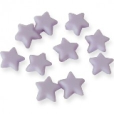 Paarse sterretjes mat klein 10 stuks