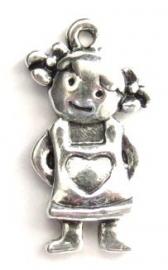 Meisje zilverkleur (10H000261)