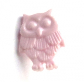 Knoopje uil roze (10X000364)