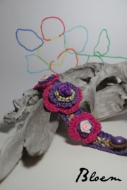 Handgemaakte damesarmband van Bloem (v003)
